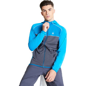 Dare 2b Ratified II Core Stretch Chaqueta Hombre, methyl blue/ebony grey/petrol blue